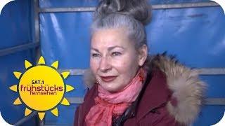 Schick trotz Obdachlosigkeit: Beauty-Routine auf der Straße | SAT.1 Frühstücksfernsehen | TV