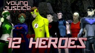 Young Justice: Legacy - X360 / PS3 / Wii U / 3DS / PC - 12 Heroes!
