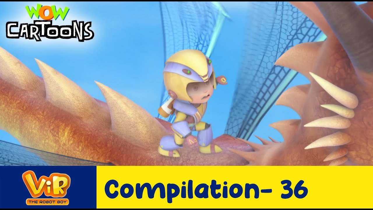 Vir the robot boy | Action Cartoon Video | New Compilation - 36| Kids Cartoons | Wow Cartoons