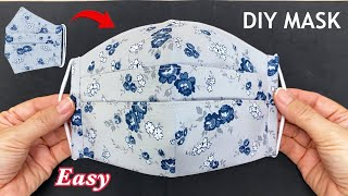 New Style 3D Mask Diy Breathable Face Mask Easy Pattern Sewing Tutorial DIY Beautiful Mask Ideas