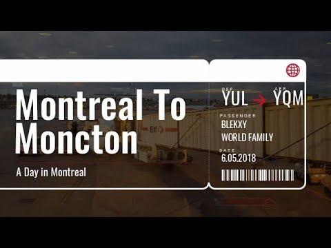 Air Canada Boarbardier Q400 - Montreal (YUL) - Moncton (YQM)