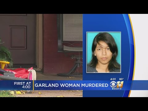 Police Seek Gunman After Garland Woman Killed In Her Front Yard