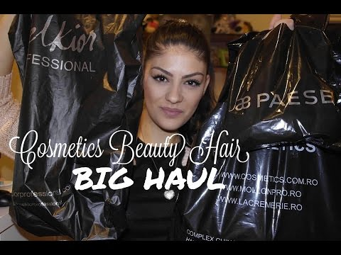 BIG HAUL | COSMETICS BEAUTY HAIR 2014
