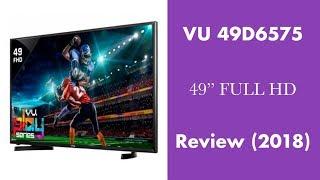 "VU 49D6575 49"" Full HD LED TV Review & Price (2018) - MR10 Review"