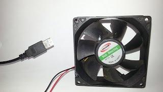 Como fazer ventilador USB caseiro fácil | Ventilador USB com cooler