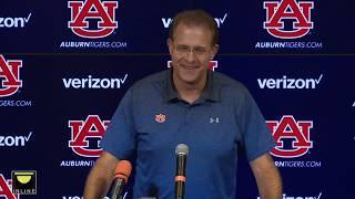 Gus Malzahn previews Auburn vs. Arkansas