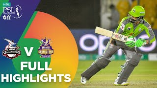 Full Highlights | Lahore Qalandars vs Quetta Gladiators | Match 4 | HBL PSL 6  | MG2T