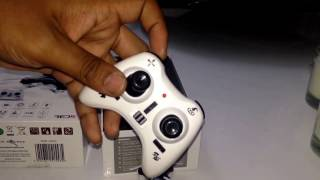 Red5 T101 Worlds Smallest Spy Drone. Unboxing - Review - Flight test