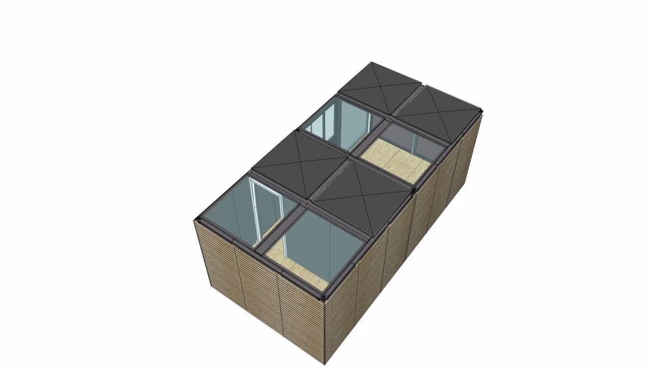 le double extract cube par un cube dans mon jardin youtube. Black Bedroom Furniture Sets. Home Design Ideas