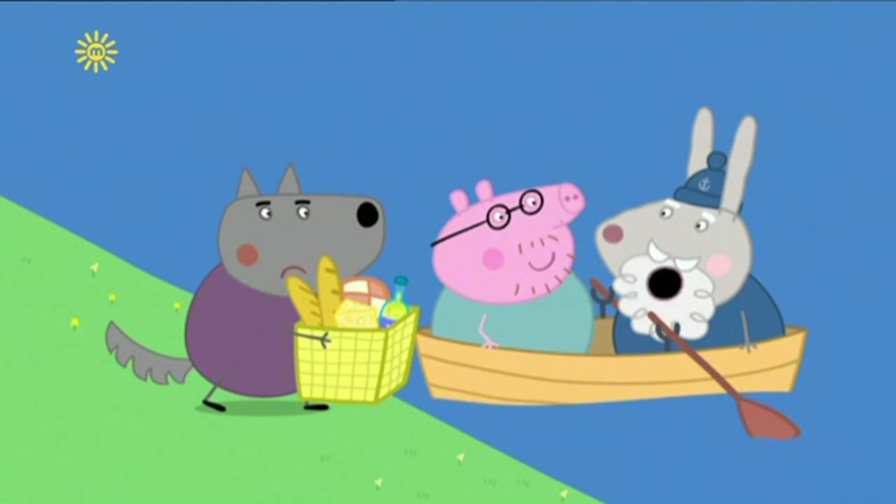 Peppa Pig - The Little Boat (33 episode / 4 season) [HD]