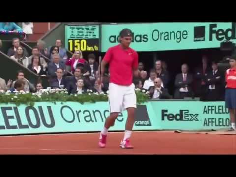 Rafael Nadal vs Novak Djokovic French Open 2012 Final Highlights   YouTube