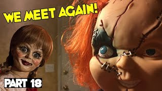 Evil Doll Annabelle mailed to us FREAKS US OUT and haunts us like a SCARY CLOWN - Part 18