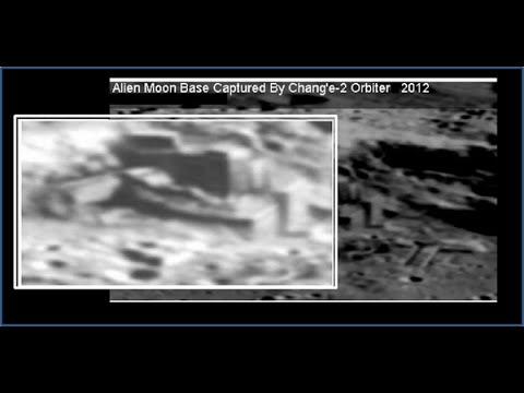 China releases Moon footage of alien bases - YouTube
