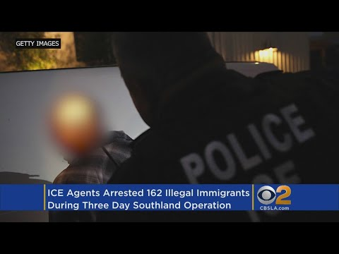 ICE Rounds Up 162 Illegal Immigrants In LA Operation