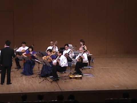 """ギター合奏 Wien Bleibt Wien ウィーンはいつもウィーン・・ classical guitar Ensemble """" Harmonics"""""""