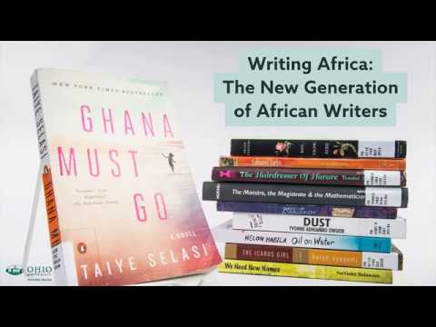 Writing Africa: The New Generation of African Writers Exhibit Opening
