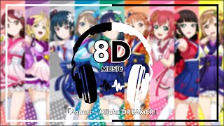 Download Mp3 『color Coded+lyrics』music『8d』anime Love Live Sunshine『aqours – Mijuku Dreamer』