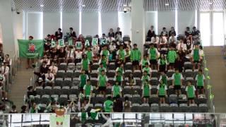 第55屆周年水運會綠社啦啦隊表演