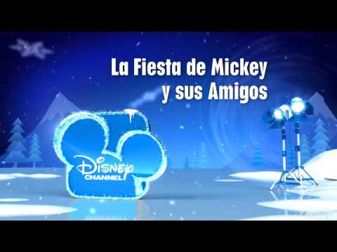 Disney Channel HD Spain Christmas Ident and Logo NEW! 2013 hd1080