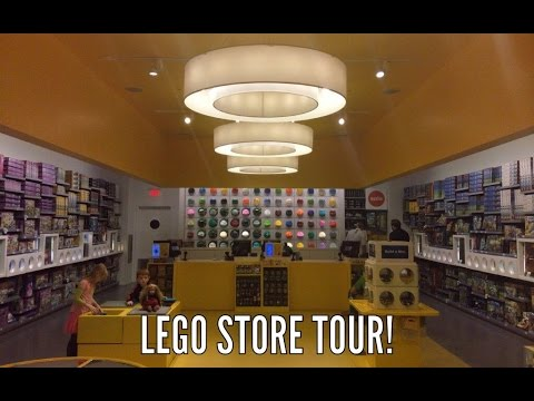 LEGO STORE TOUR! Come with me as I look around my Lego Store! - YouTube