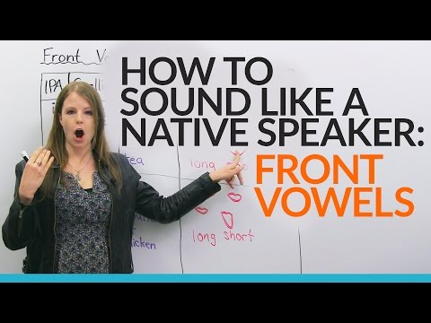 Sound more natural in English: Learn and practice 5 FRONT VO