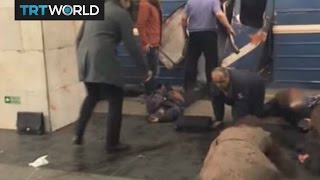 Russia Metro Attack: Initial footage from the blast in St. Petersburg