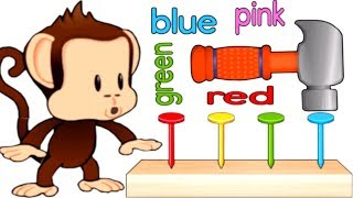 Learn Colors, Numbers with Monkey | Educational Kids Puzzle Games Monkey Preschool Fix-It