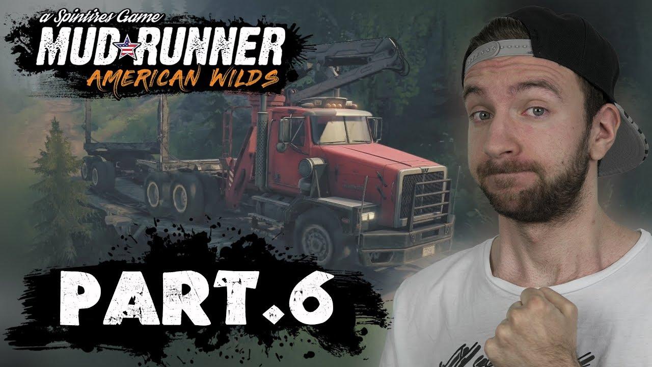 WESTERN STAR V TERÉNU! (AMERICAN WILDS DLC) | Spintires Mudrunner #06