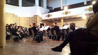 Latvijas Universitātes pūtēju orķestra koncerts Orķestra portrets. 12.10.2013. mob.video.
