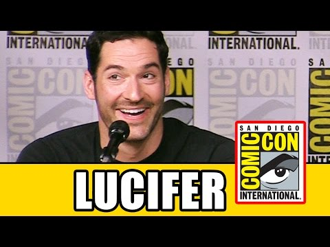 LUCIFER Tom Ellis Comic Con Interview