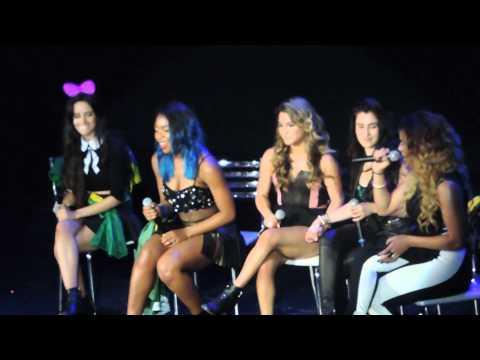 "Fifth Harmony - Who Are You + ""Lauren eu te amo"" (Rio de Janeiro, Brazil 10/10/14)"