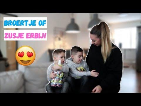 KIDS VERTELLEN OVER DE ZWANGERSCHAP + EERSTE ECHO!   VLOG #221