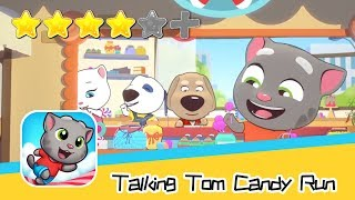 Talking Tom Candy Run - Day 12 Walkthrough New High Score! Recommend index four stars