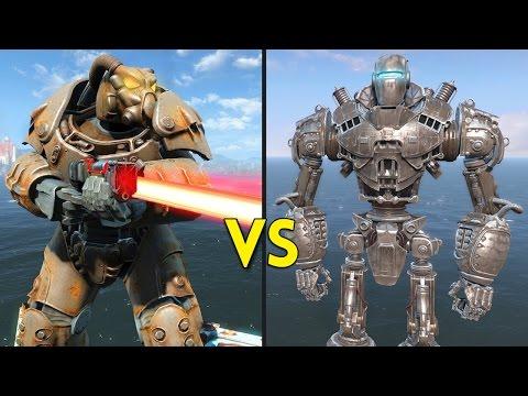 Fallout 4 - LIBERTY PRIME vs 50 ENCLAVE - Battles #56