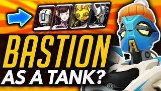 Overwatch | Bastion Rework Idea - New Ability + Tank Hero Breakdown ft Kolorblind