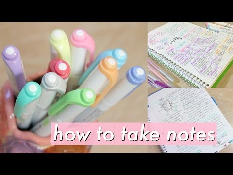 How to take AMAZING notes | Study Effectively!!