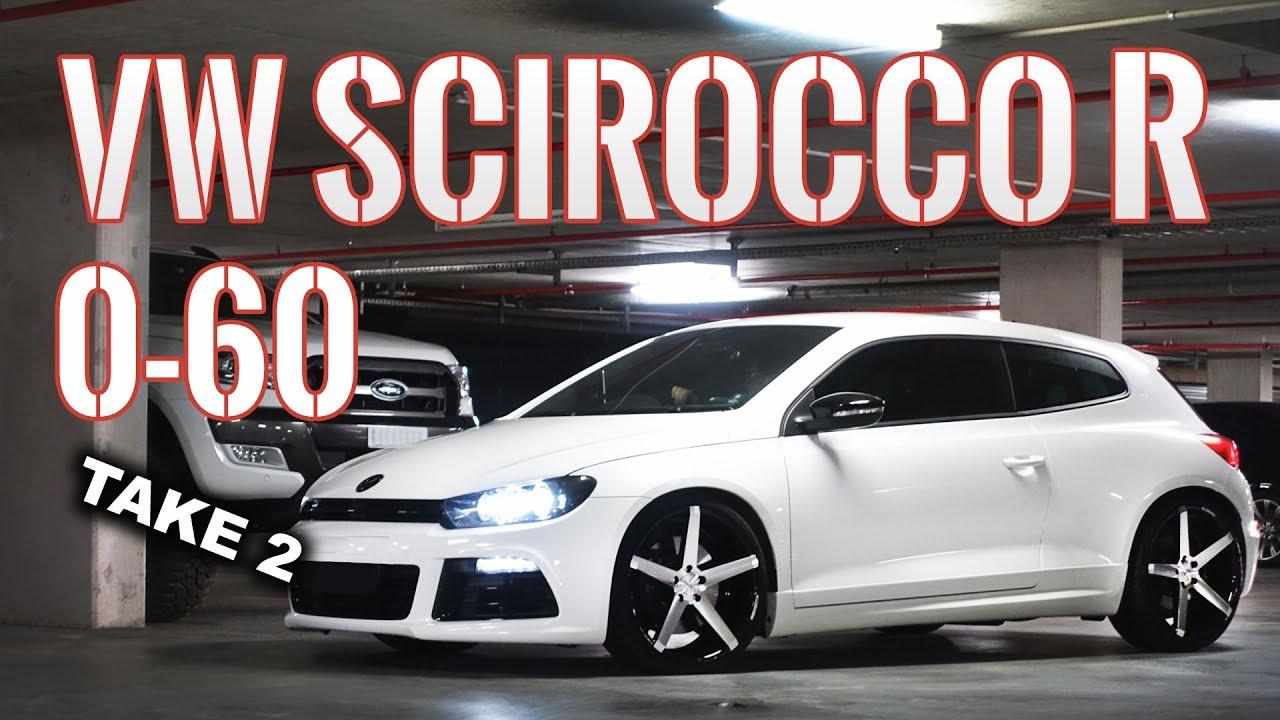 38c94e26f0 VW Scirocco R 0-100kmh Launch Control Test Version 2 Exhaust Sounds    Volkswagen Performance Review