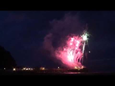 RNLI Minehead Harbour Fest Fireworks 2015