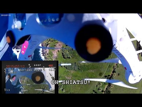 CHEERSON CX20 QuadCopter Drone - [High Winds Crash From 500 Feet Into Maui Coast]