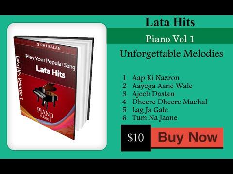 Piano Sheet Music Notes For Lata Hits Vol 1 Youtube