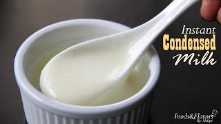 Condensed Milk Recipe Or 5 Minute Milkmaid Recipe | No Cooking Vegetarian Recipes By Shilpi