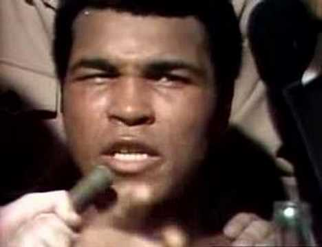 Post Fight Interview Muhammed Ali after the Rumble in the Jungle