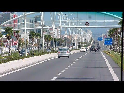 Tirana by bus