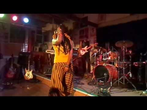 Nkulee Dube (daughter of Lucky Dube) performing live at Ashkenaz Berkeley, CA- July 19, 2013 (8)