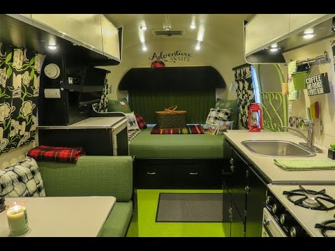 1966 Airstream Safari Renovation