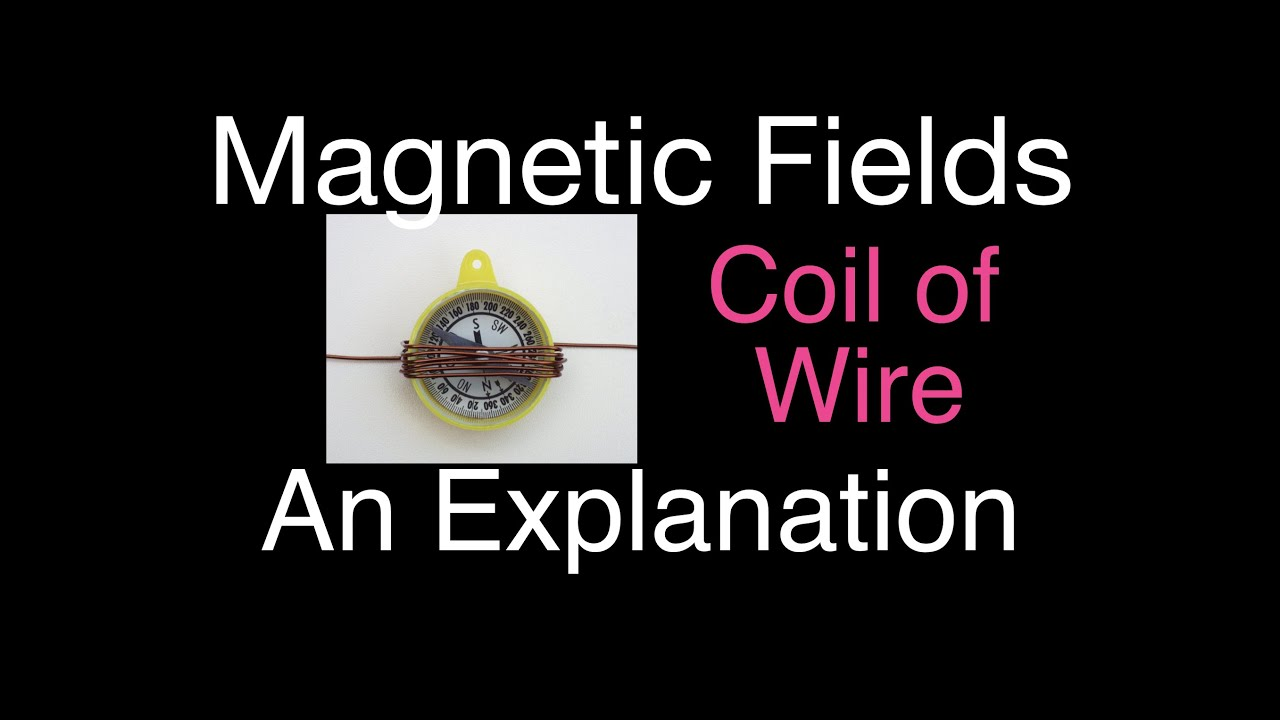 Magnetism (5 of 13) Magnetic Field of a Coil, An Explanation