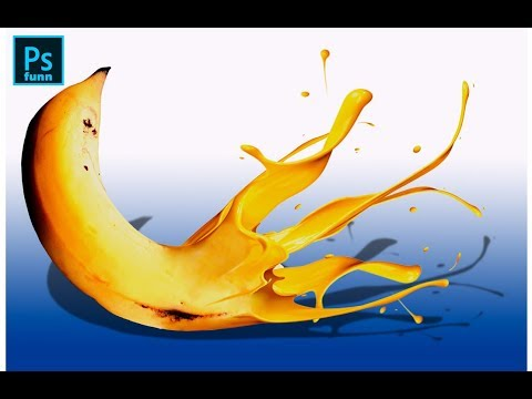 Photoshop Tutorial: How to create the banana plashed effect #photoshop #photoshopfunn thumbnail