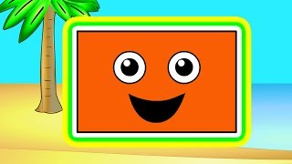 """Island Shapes Groove"" - Learn Shapes, Teach Shapes, Baby Toddler Preshcool Songs Nursery Rhymes"
