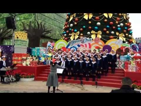 Lively Christmas Carols @ Ocean Park Hong Kong