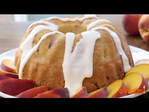 How To Make Peach Pound Cake | Cake Recipes | Allrecipes.com